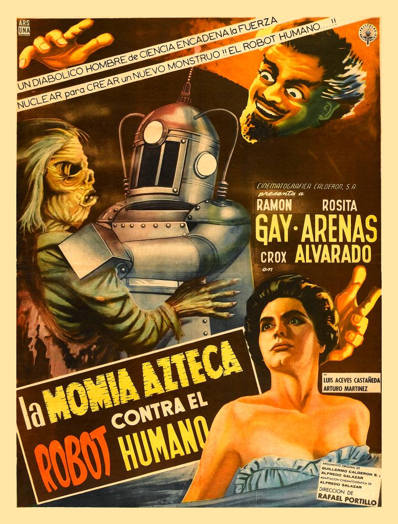 Robot vs. the Aztec Mummy