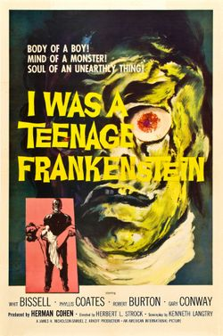 Teenage frankenstein